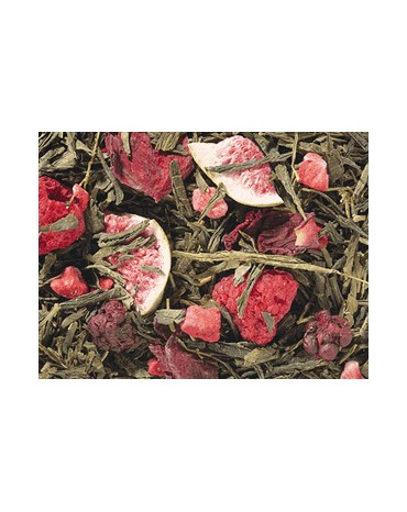 Thés Verts Aromatisés / Fruits Rouge