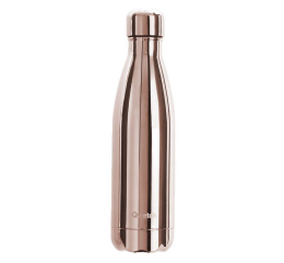 "Bouteille Nomade Isotherme QWETCH ""Metal Rose Gold"" 500ml"