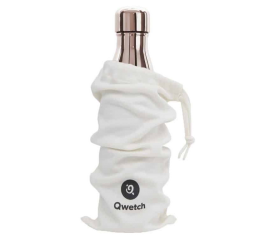 "QWETCH - Bouteille Nomade Isotherme ""Metal Rose Gold"" 500ml"