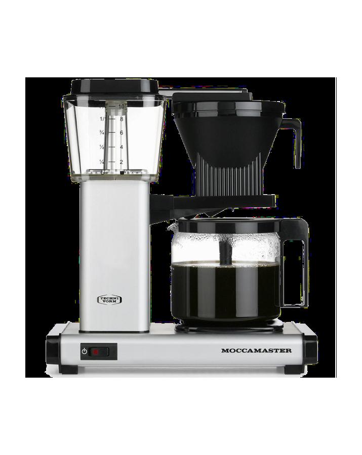 Moccamaster / Cafetière Filtre HBG 1.25L Alu