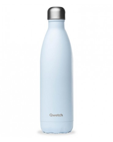"""copy of QWETCH - Bouteille Nomade Isotherme  """"Pastel Bleu"""" 750ml"""