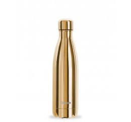 "QWETCH - Bouteille Nomade Isotherme ""Gold"" 500ml"