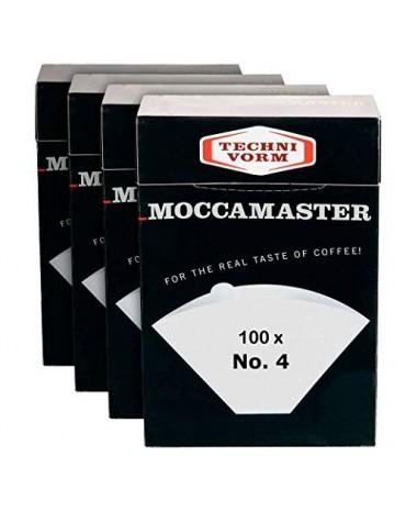Moccamaster - Pack de 100 Filtres N°4