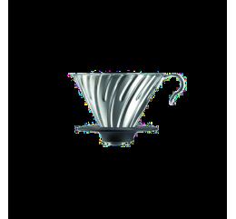 Hario - V60 Acier Argent - 1/4 tasses