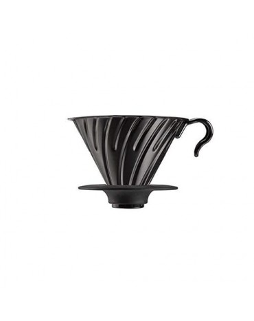 Hario - V60 Métal Noir - 1/4 tasses