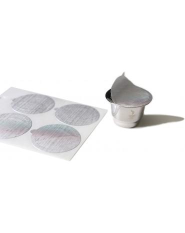 Kit de 80 Opercules pour Capsules Rechargeables & Réutilisables CONSCIO