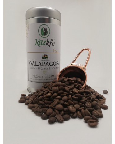 "PRESTIGE - Equateur - GALAPAGOS® - Hacienda El Cafetal San Cristobal  ""ORGANIC GOURMET"" Boîte 125g"