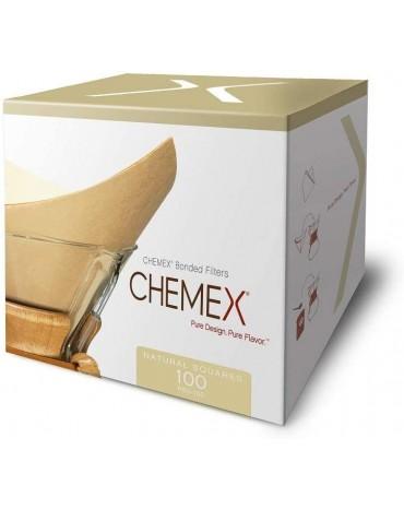Chemex - Boîte de 100 Filtres Naturels - 6 tasses