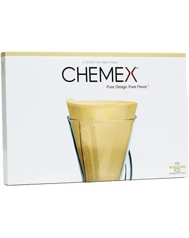 Chemex - Boîte de 100 Filtres Naturels - 1 à 3 tasses